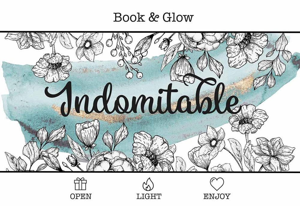 bookandglow - 'Indomables' Candle Box