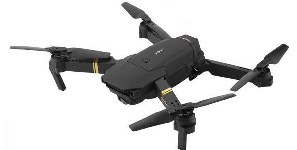 MOVILPLAZA INTERNET S.L. - EACHINE  E58 WiFi Pocket Drone Plegable con Mando