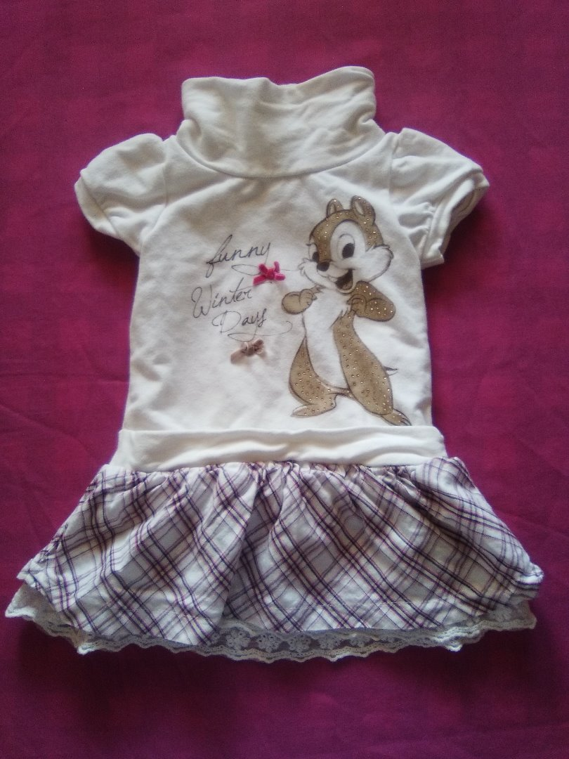 CLOTHING - DISNEY VESTIDO 18 MESES