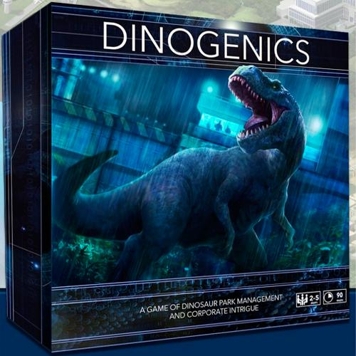 COBIJOFRIKI - Ninth Haven Games DINOGENICS KS EDITION (INGLÉS)