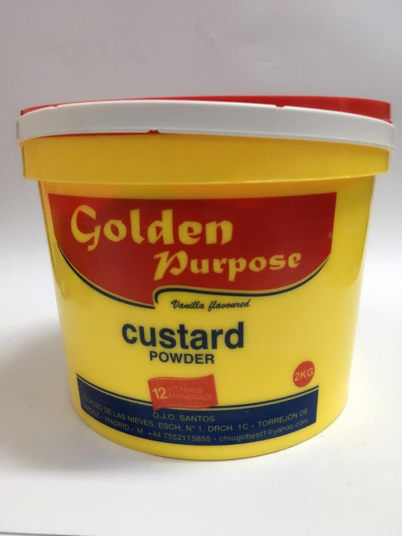 COMERCIAL CHINERE - GOLDEN CUSTARD POWDER 2 K