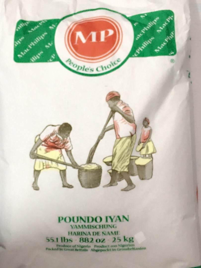 COMERCIAL CHINERE - MP POUNDED YAM 25 K
