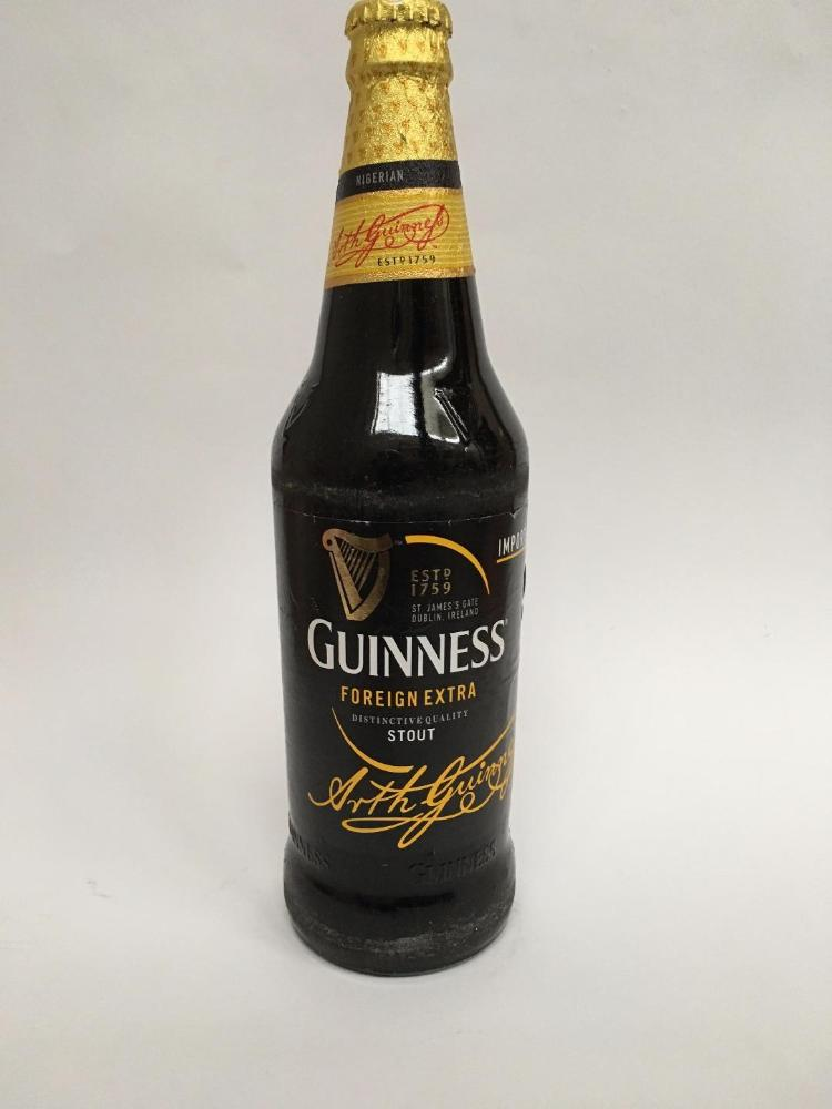 COMERCIAL CHINERE - GUINNESS CERVEZA  7,5% 60 CL
