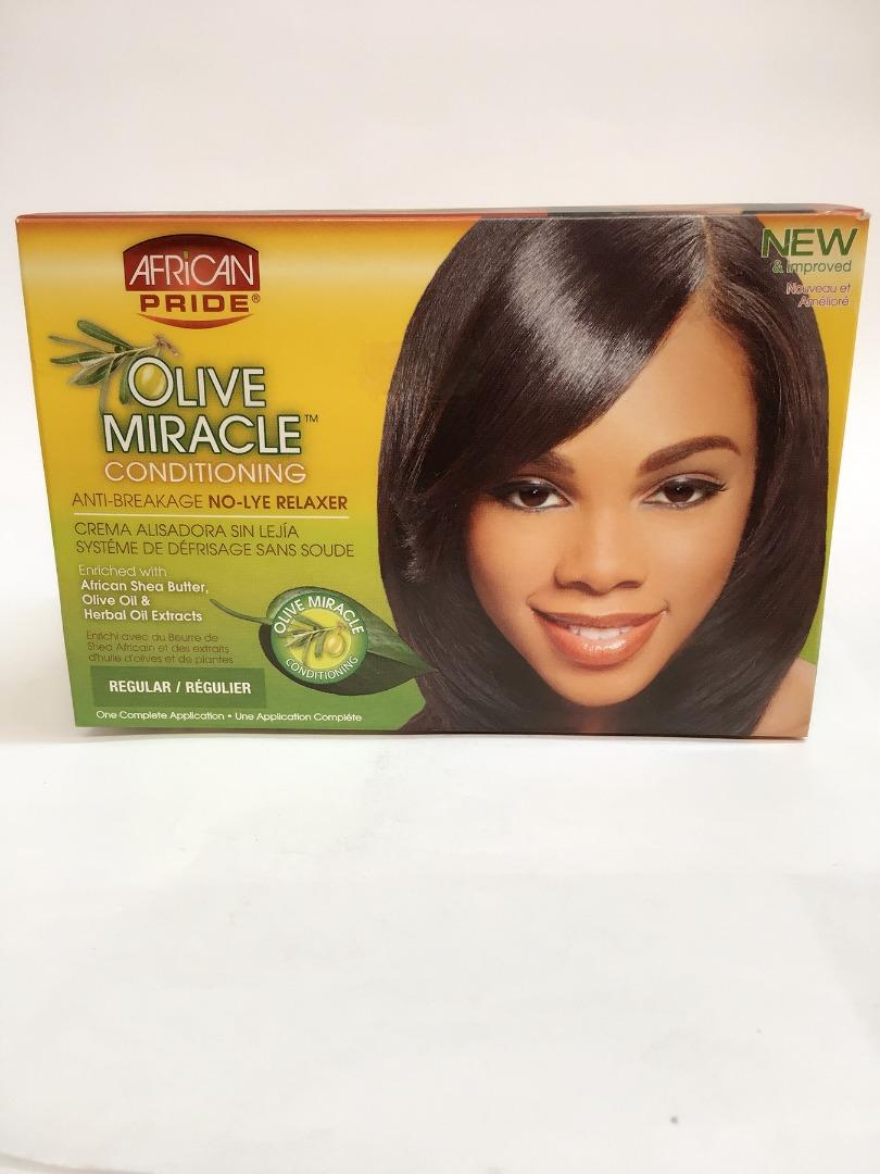 COMERCIAL CHINERE - AFRICAN PRIDE RELAXER KIT REGULAR