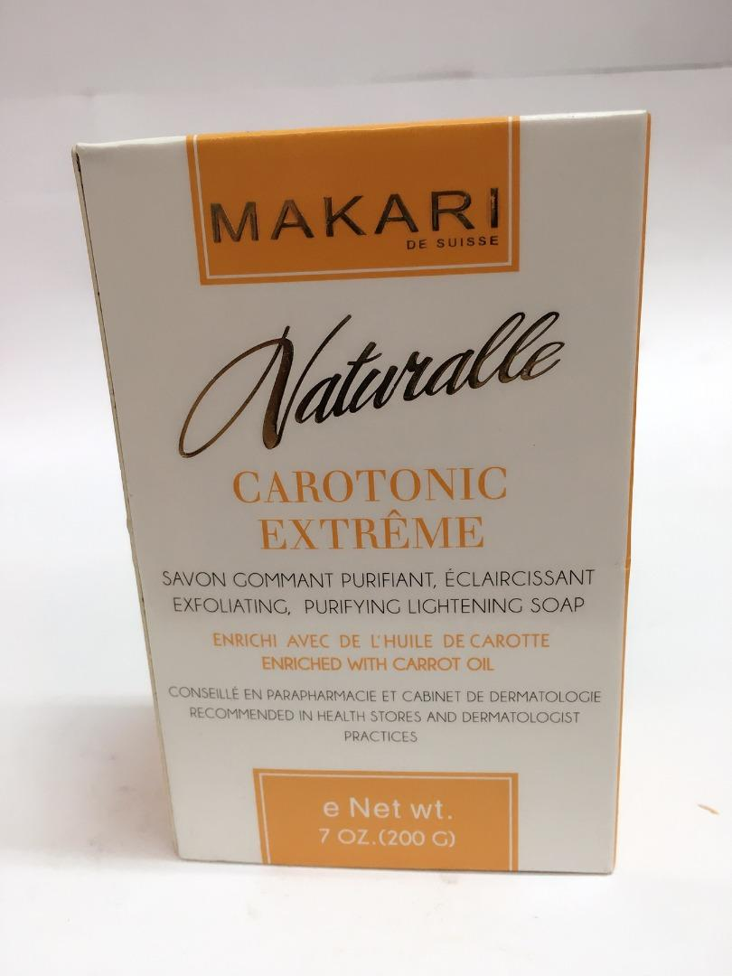 COMERCIAL CHINERE - MAKARI NATURALLE CAROTONIC EXFOLIATING SOAP 200GR