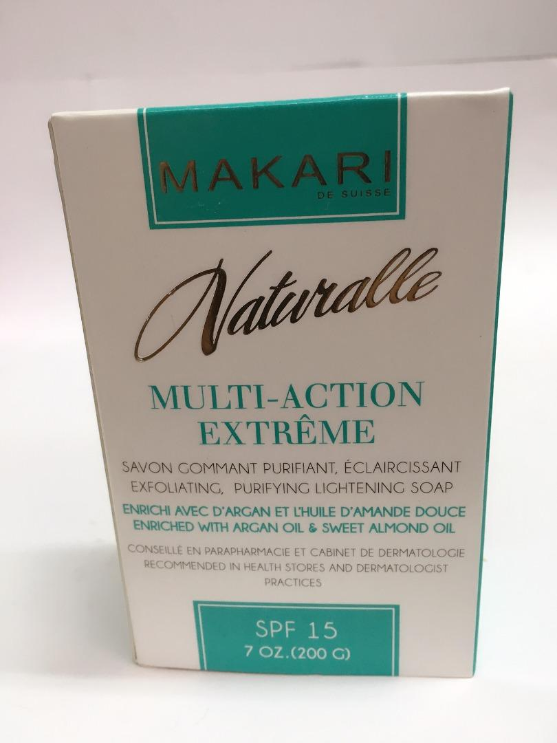 COMERCIAL CHINERE - MAKARI NATURALLE MULTI-ACTION EXFOLIATING SOAP 200GR