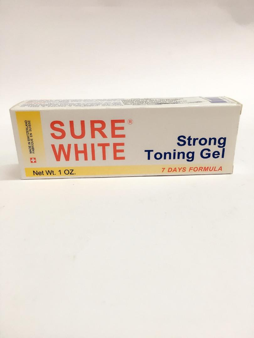 COMERCIAL CHINERE - SURE WHITE STRONG TONING GEL TUBE