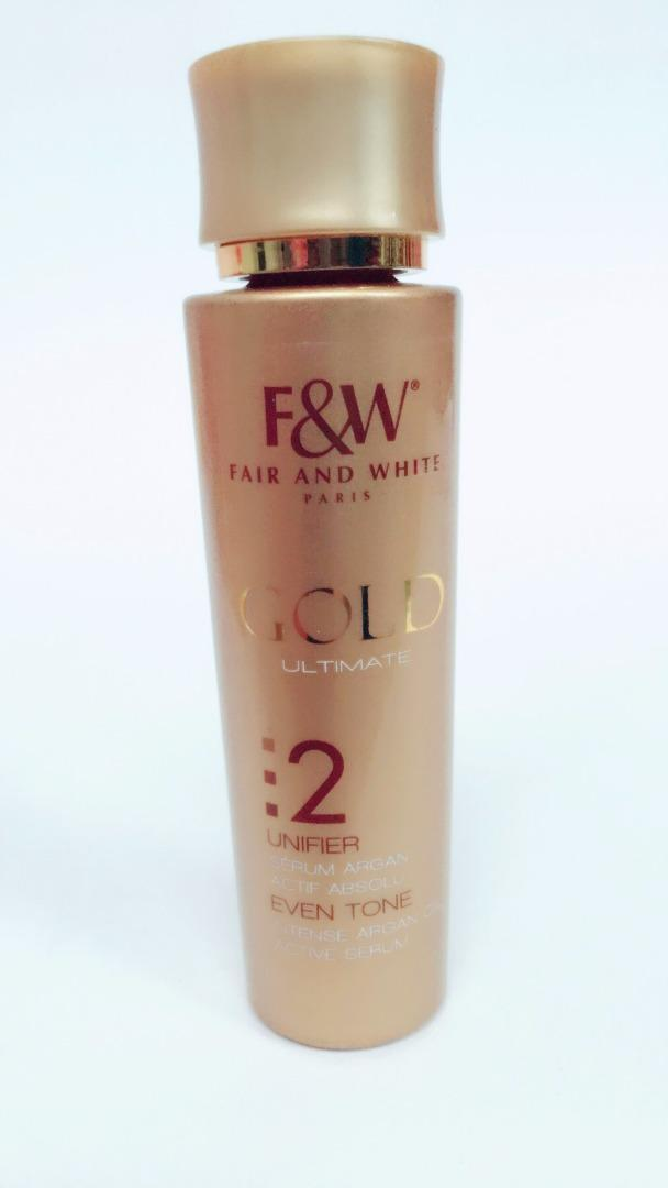 COMERCIAL CHINERE - FAIR & WHITE GOLD SERUM