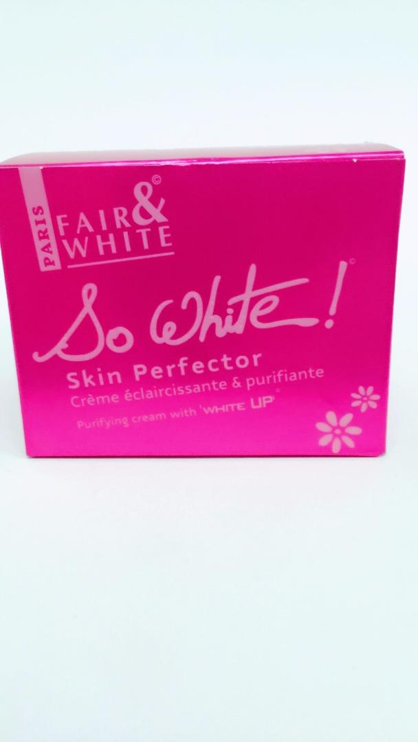 COMERCIAL CHINERE - FAIR & WHITE SO WHITE FADE CREAM