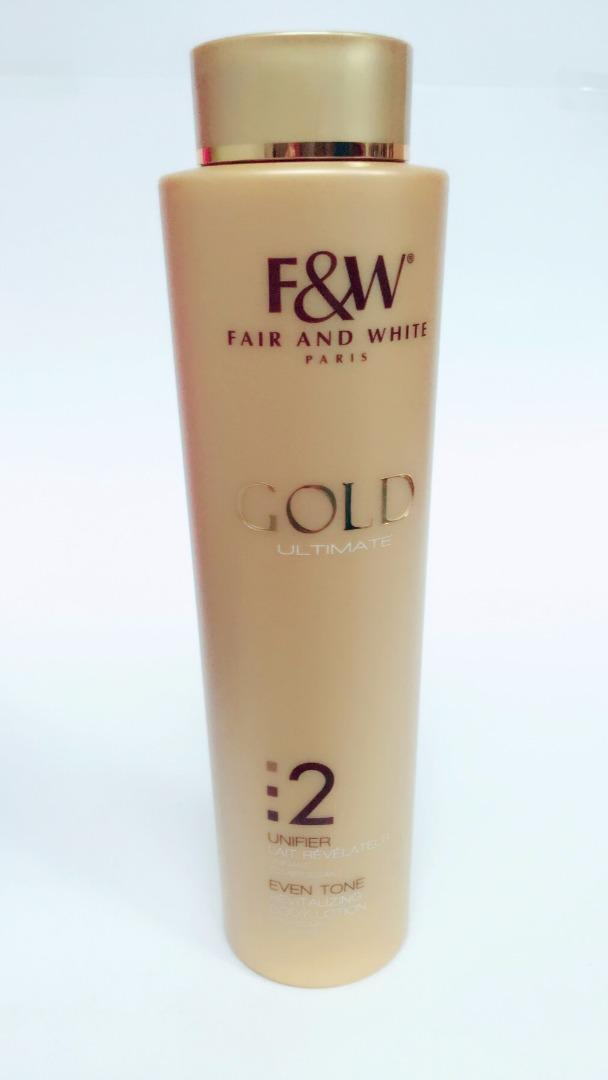 COMERCIAL CHINERE - FAIR & WHITE GOLD BODY MILK 500 ML