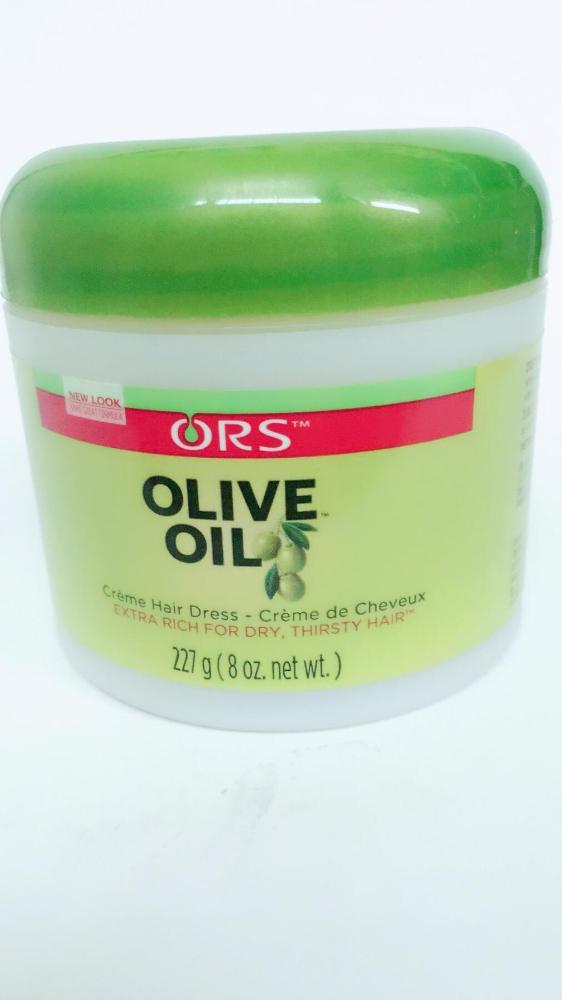 COMERCIAL CHINERE - ORS OLIVE OIL HAIR CREAM 8 OZ.