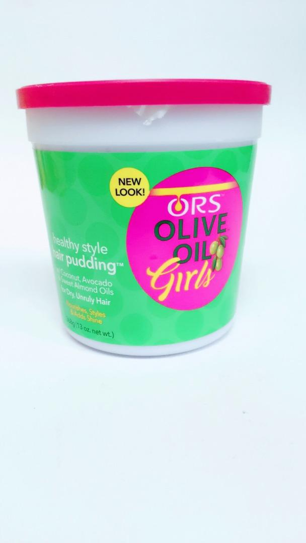 COMERCIAL CHINERE - ORS OLIVE OIL GIRLS PUDDING HAIR CREAM