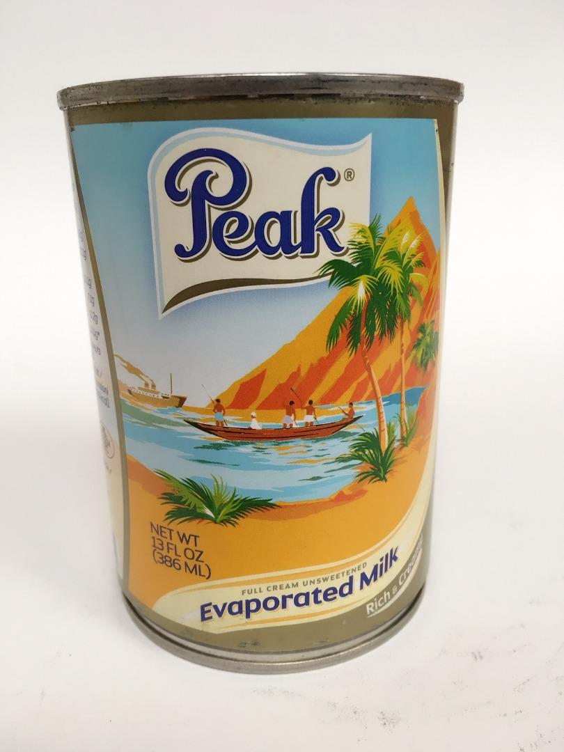 COMERCIAL CHINERE - PEAK MILK EVAPOTATED 386 ML