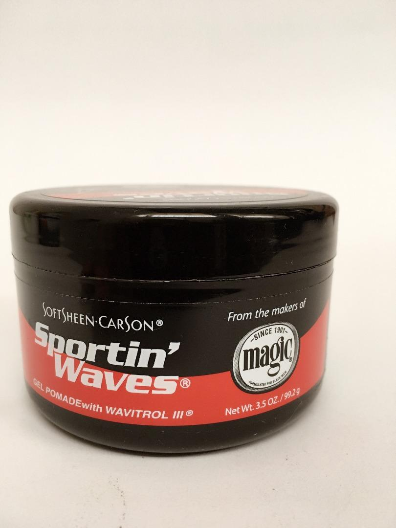 COMERCIAL CHINERE - SPORTIN WAVES GEL POMADE BLACK