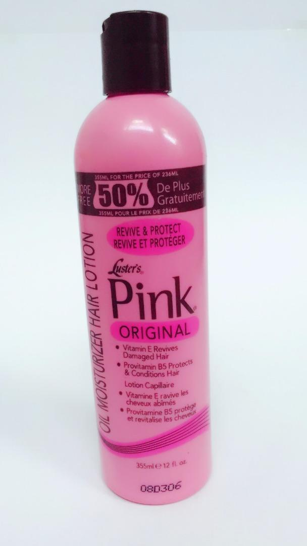 COMERCIAL CHINERE - LUSTER´S PINK OIL HAIR LOTION 12 OZ