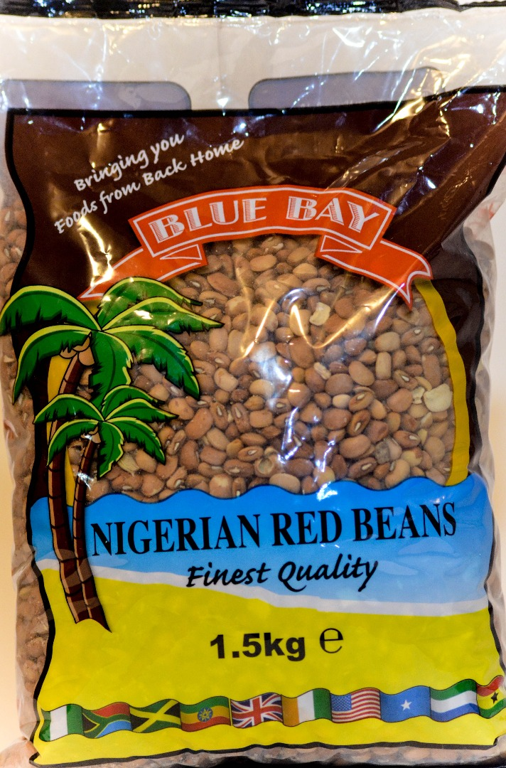COMERCIAL CHINERE - BLUE BAY NIGERIAN RED BEANS  1,5 K
