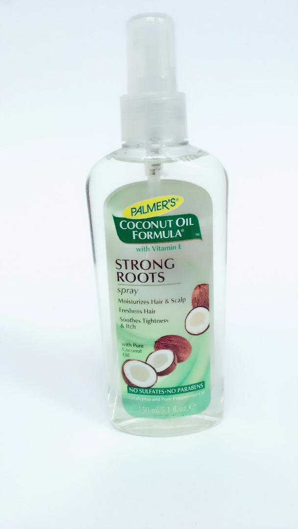 COMERCIAL CHINERE - PALMER´S COCONUT OIL STRONG ROOTS SPRAY