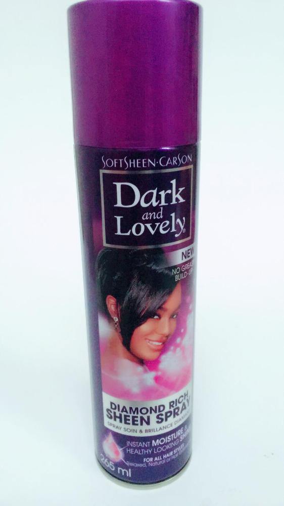 COMERCIAL CHINERE - DARK & LOVELY OIL SHEEN SPRAY