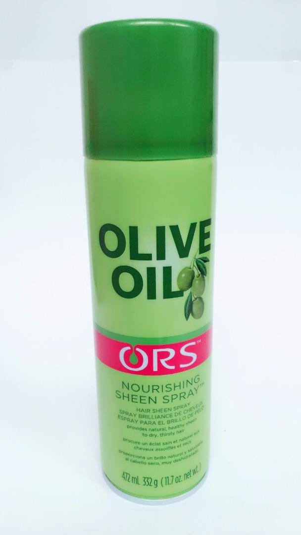 COMERCIAL CHINERE - ORS OLIVE OIL SHEEN SPRAY