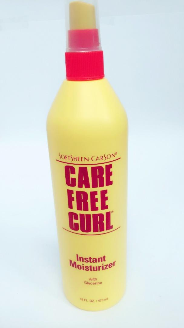 COMERCIAL CHINERE - CARE FREE CURL INSTANT MOISTURIZER  SPRAY
