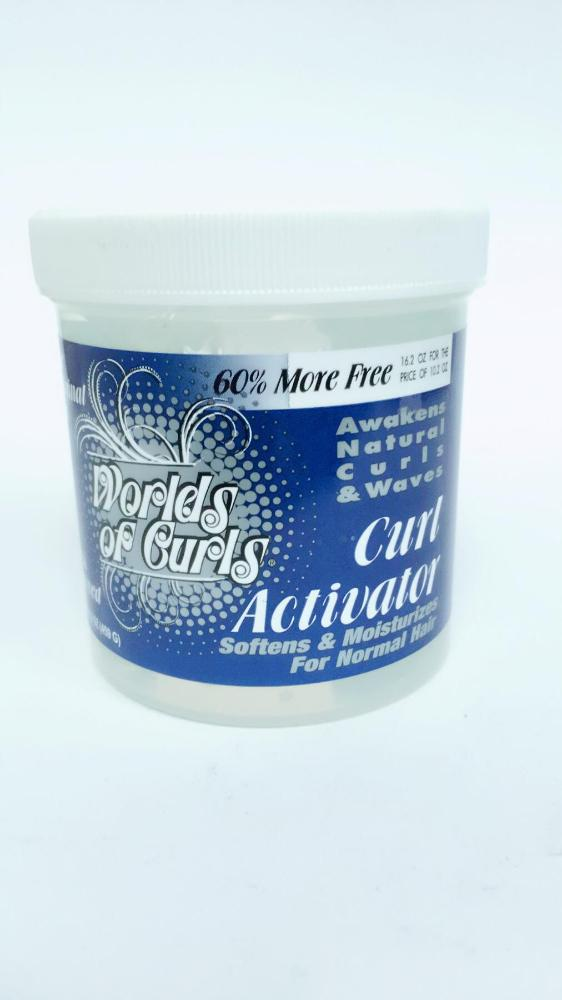 COMERCIAL CHINERE - WORLD OF CURLS GEL ACTIVATOR REG. 16 OZ