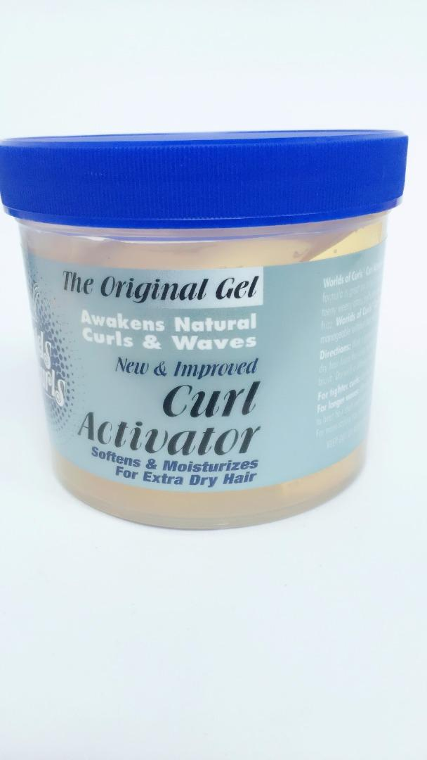 COMERCIAL CHINERE - WORLD OF CURLS GEL ACTIVATOR DRY  32 OZ