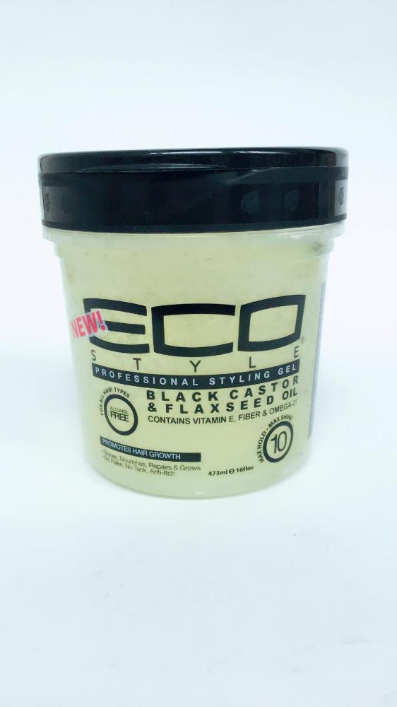 COMERCIAL CHINERE - ECO STYLER STYLING GEL BLACK CASTOR 16 OZ