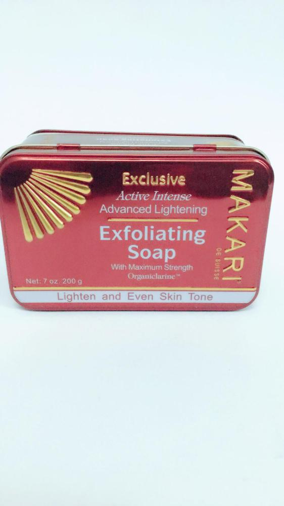 COMERCIAL CHINERE - MAKARI EXCLUSIVE EXFOLIATING  SOAP 200GR