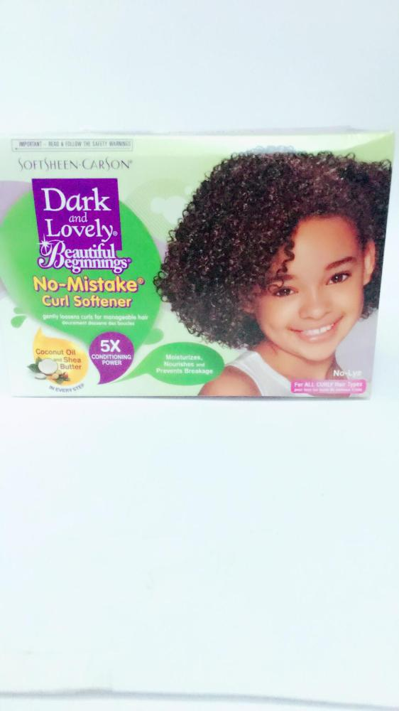 COMERCIAL CHINERE - DARK  LOVELY  B. B. CURL SOFTENER