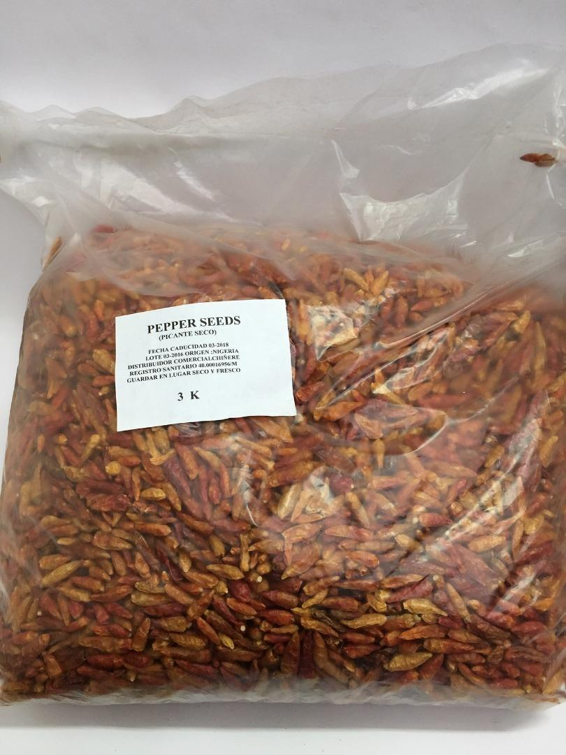 COMERCIAL CHINERE - CHINERE DRY PEPPER  3 K