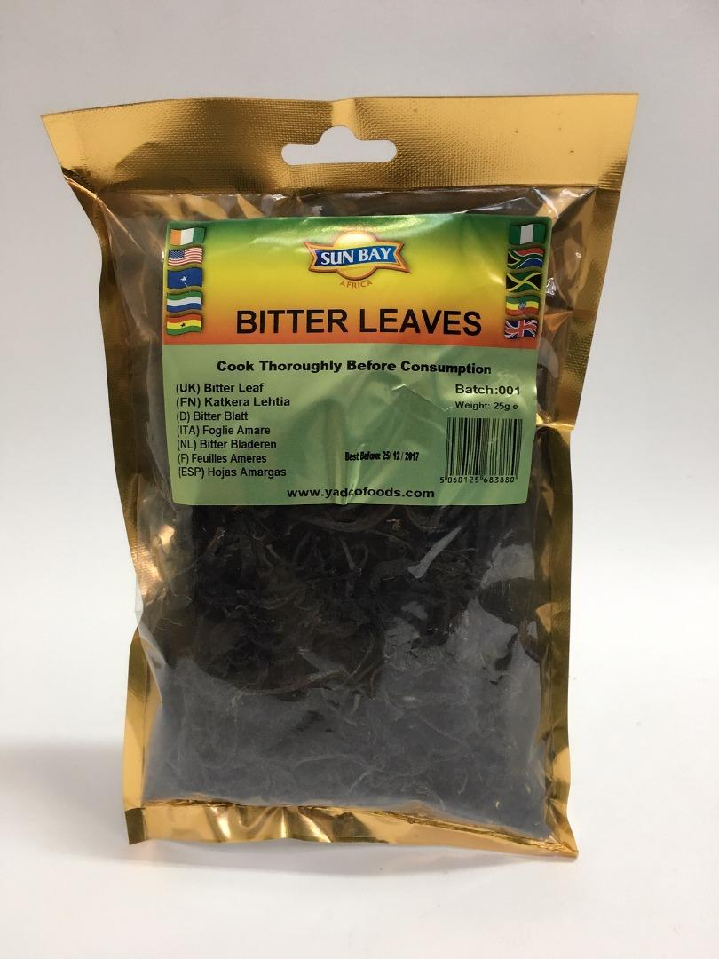 COMERCIAL CHINERE - SUN BAY BITTER LEAVES 25 GR