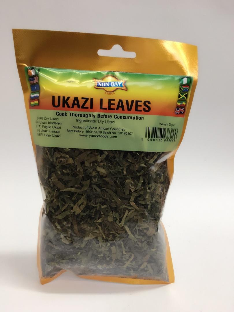 COMERCIAL CHINERE - SUN BAY UKAZI LEAVES 25 GR
