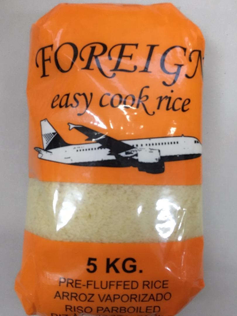 COMERCIAL CHINERE - FOREIGN EASY COOK RICE 5 K