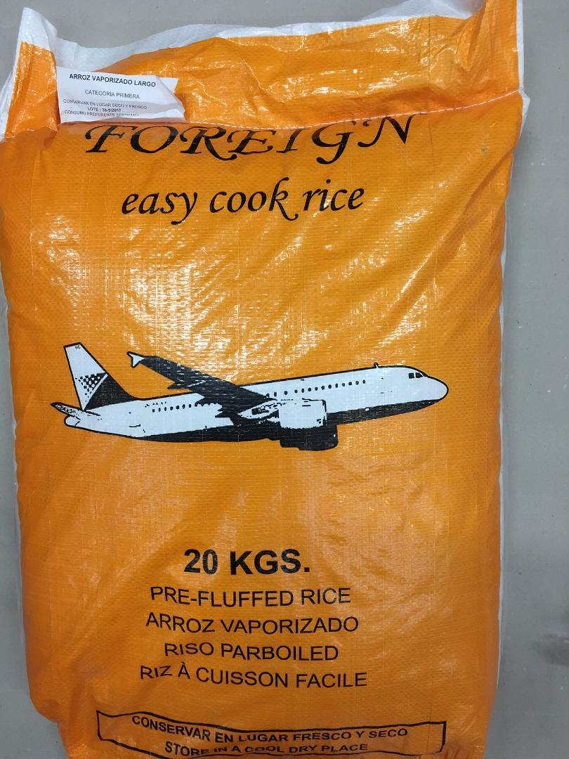 COMERCIAL CHINERE - FOREIGN EASY COOK RICE 20 K