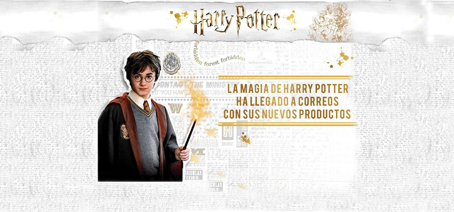 Productos de Harry Potter para Correos