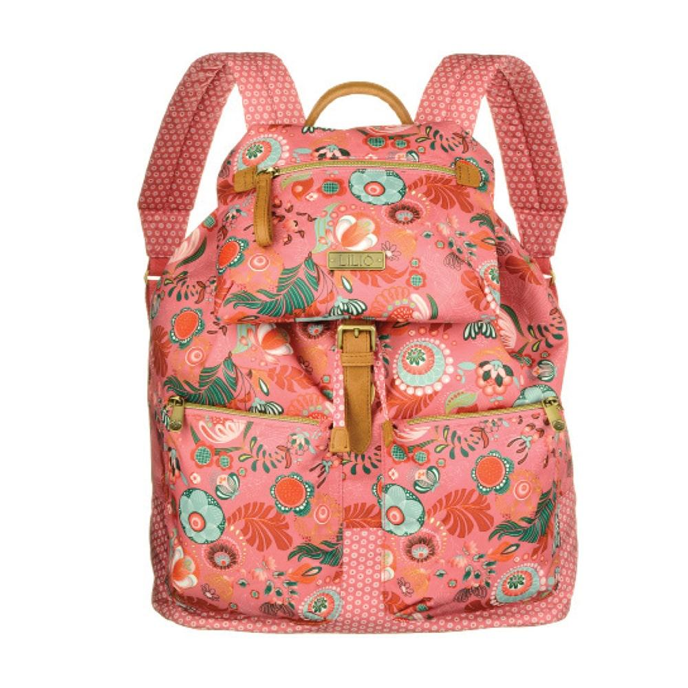 Fragranstore - JELLY BLOSSOM City Backpack Coral Rose
