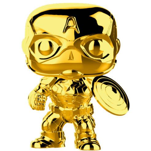funkostars - Capitan America Gold Chrome