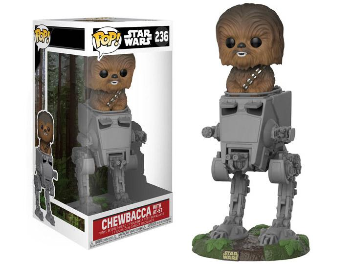 funkostars - Chewbacca sobre AT-ST
