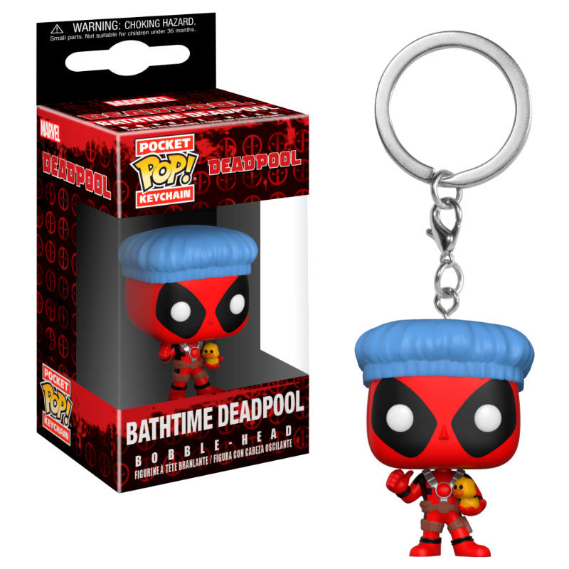 Llavero Deadpool Ducha