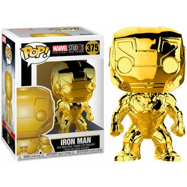 funkostars - Iron Man Gold Chrome