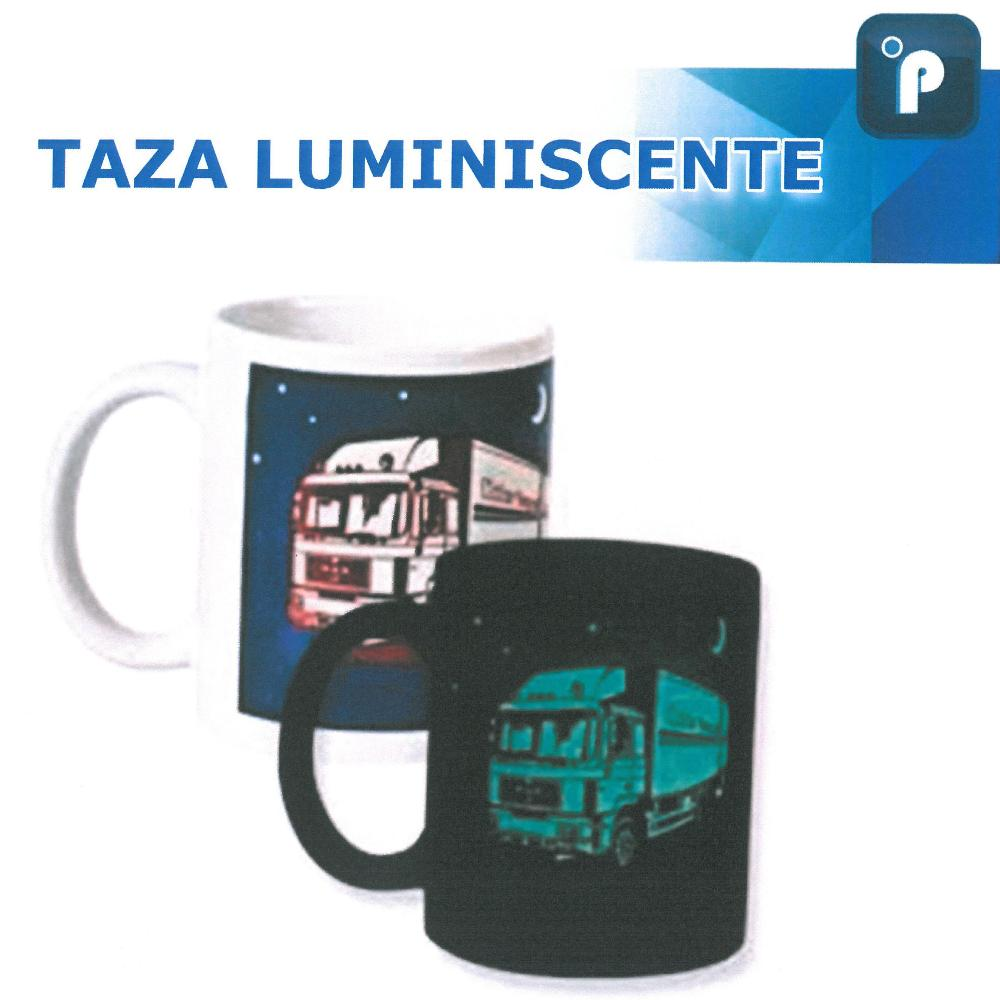 * Taza luminiscente