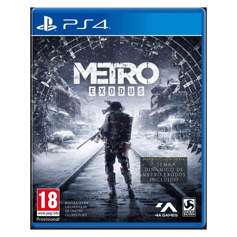 Juego PS4 Metro Exodus Day One Edition