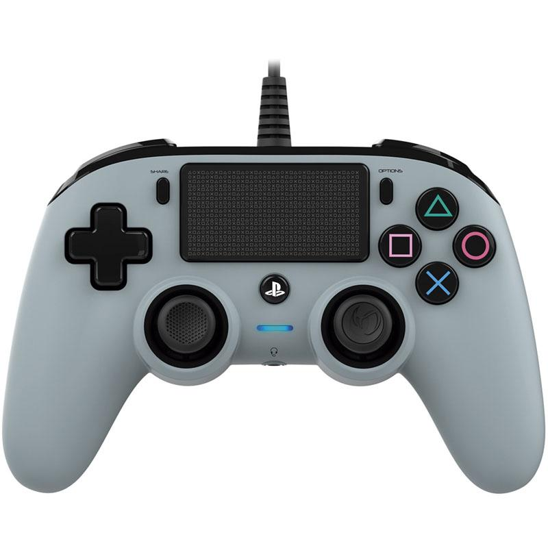 Gamepad PS4 Nacon Wired gris