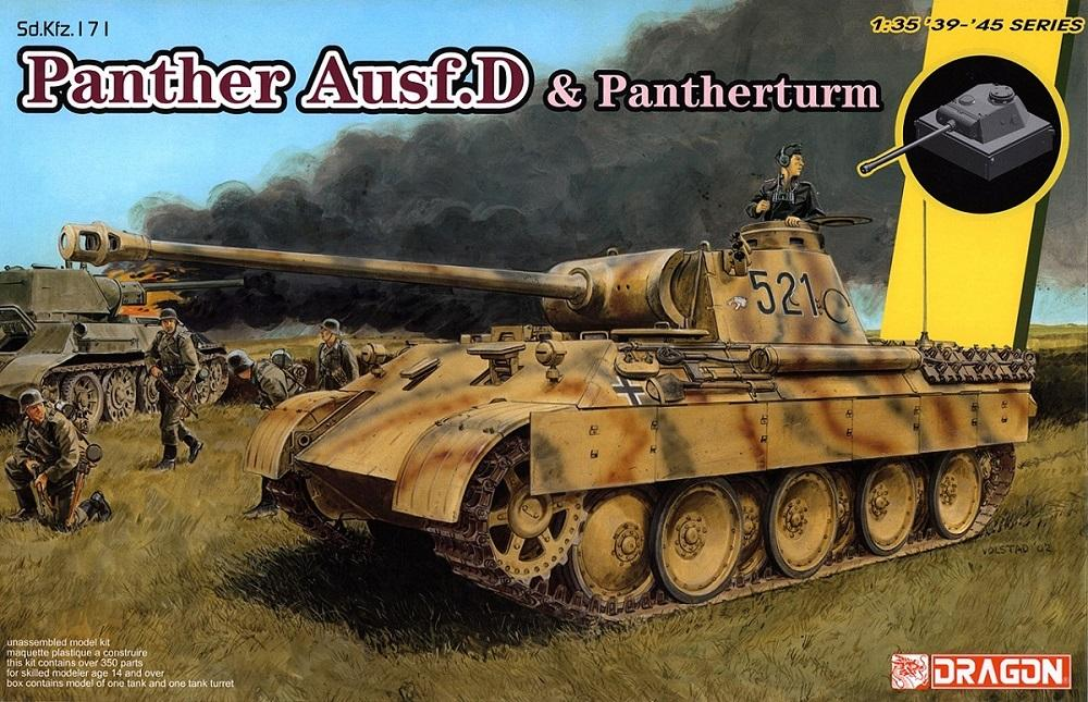 hobby-maquetas.net - DRAGON 6940 German Medium Tank 'Panther' Ausf.D and Pantherturm