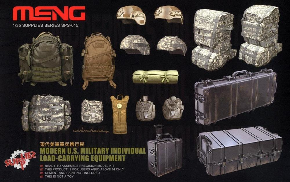 hobby-maquetas.net - MENG MODEL SPS015 Modern U.S. Military Individual Load-Carrying Equipment
