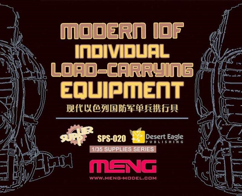 hobby-maquetas.net - MENG MODEL SPS020 Modern I.D.F. Individual Load-Carrying Equipment (Resin)