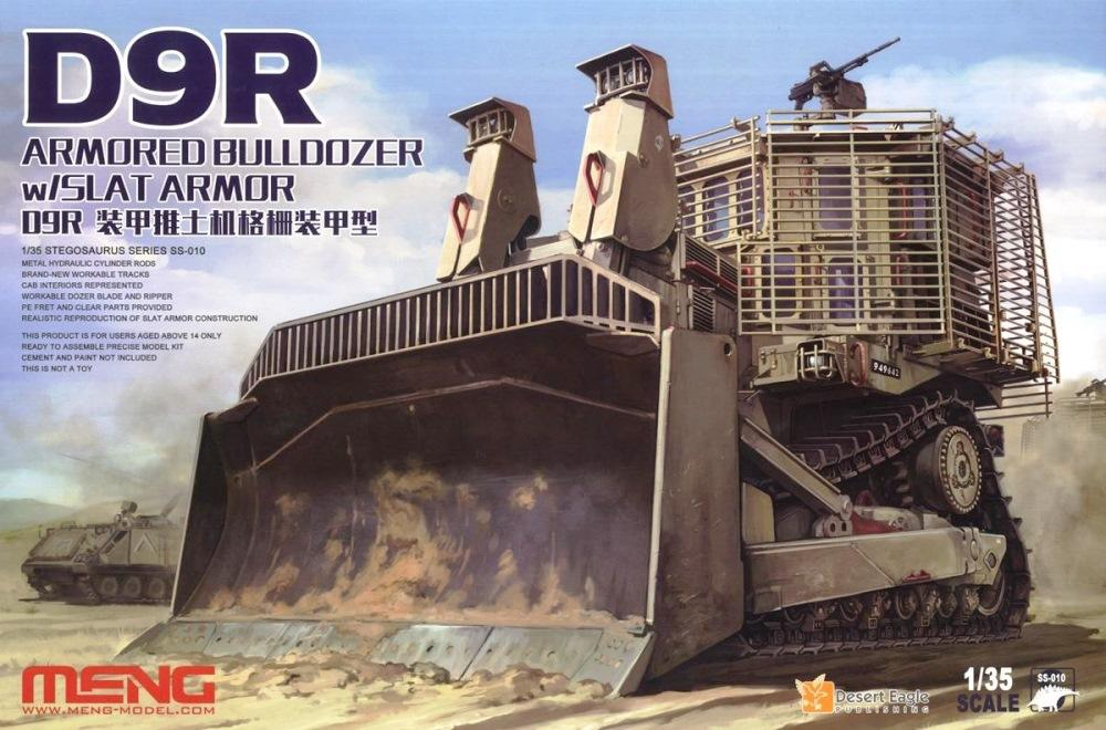 hobby-maquetas.net - MENG MODEL SS010 D9R Armored Bulldozer with Slat Armor