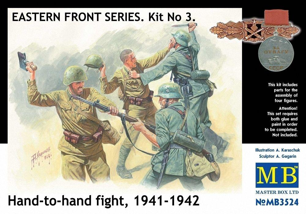 hobby-maquetas.net - MASTER BOX 3524 Hand to Hand Fight (1941-1942)