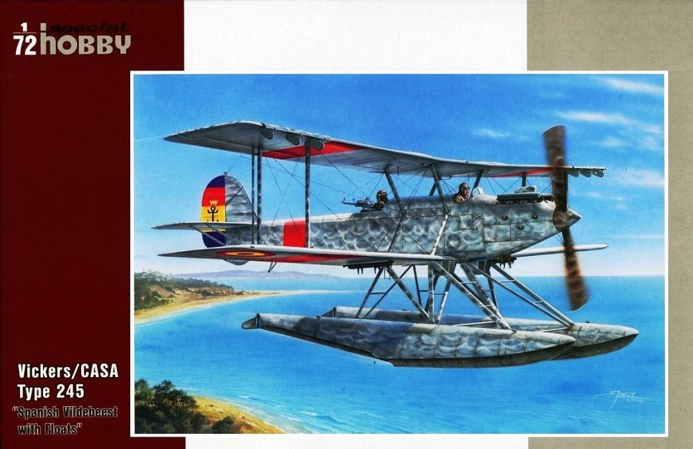 hobby-maquetas.net - SPECIAL HOBBY 72241 Vickers/CASA Type 245 'Spanish Vildebeest with Floats'