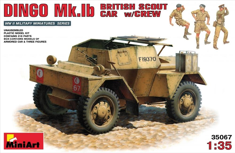 hobby-maquetas.net - MINIART 35067 British Scout Car Dingo Mk.Ib with Crew (WWII)